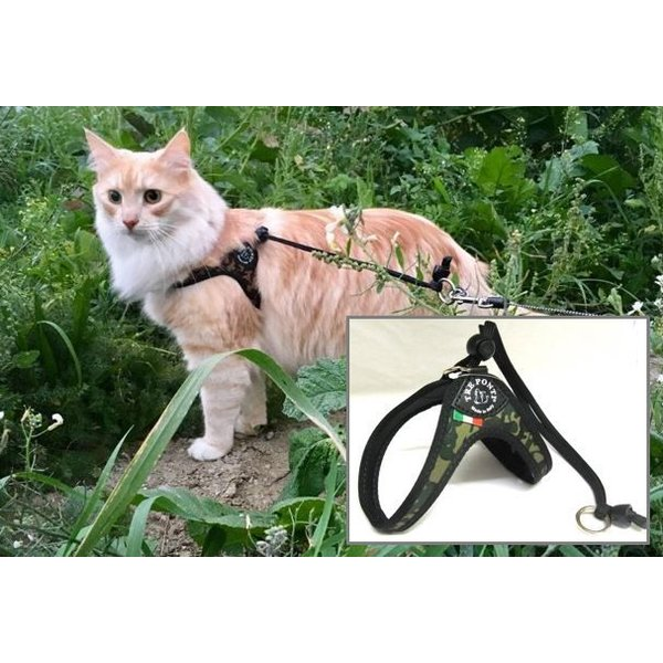 Liberta Army cat harness