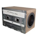 District 70 MIXTAPE Cardboard Scratch and Hide Large