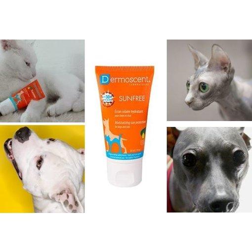 Dermoscent SunFREE zonnebrandcrème voor kat en hond