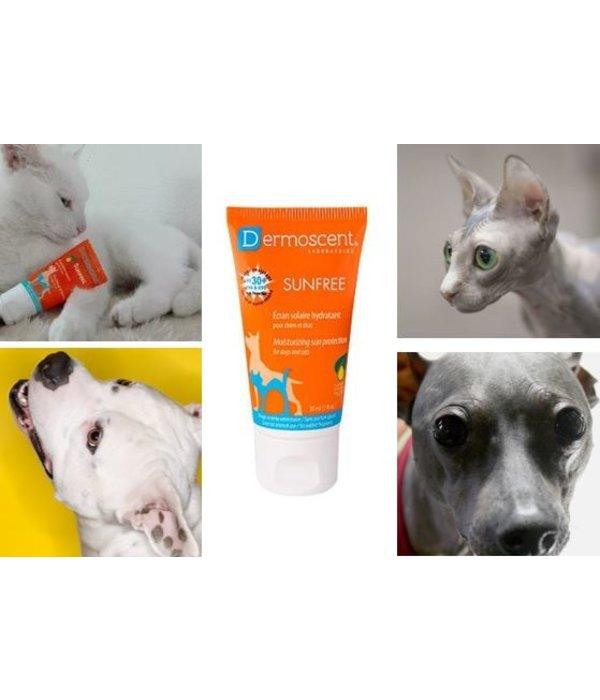 Dermoscent SunFREE zonnebrandcrème (SPF30+) voor kat en hond