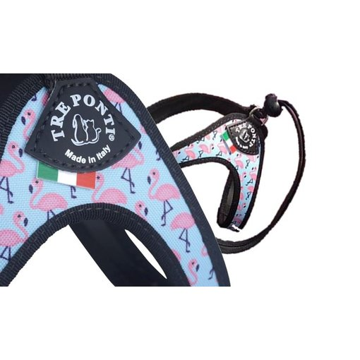 Tre Ponti Liberta Vibes Flamingo for cats and small dogs