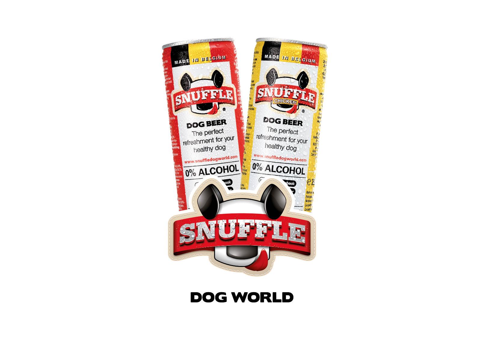 Hondenbier Snuffle Dog Beer made in Belgium
