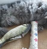 Tabby Tijger Refillable MIX Kicker, with catnip and valerian