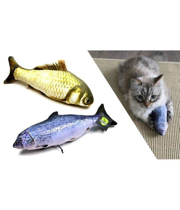Tabby Tijger Cuddle FISH refillable SALMON or CARP (mix)