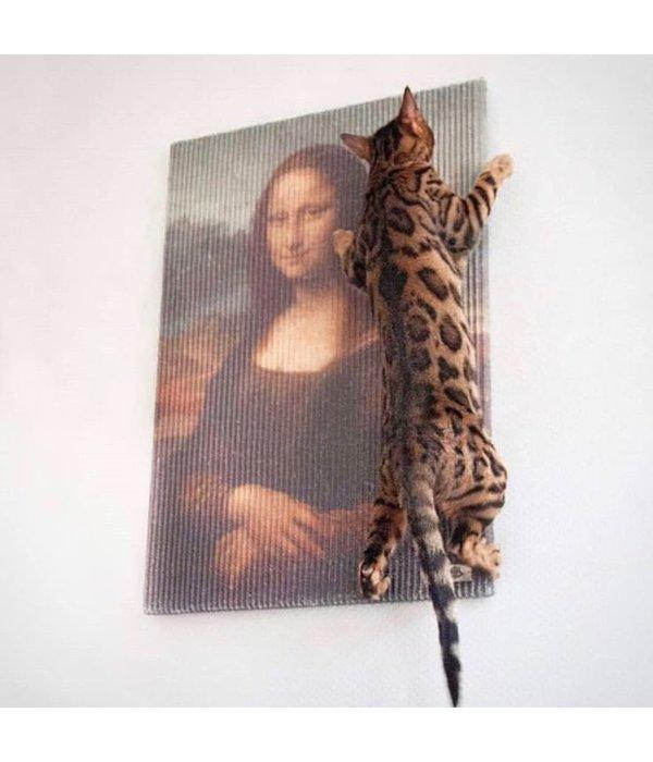 Copycat Art Scratcher - Mona Lisa