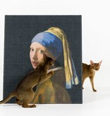 Copycat Art Scratcher - Girl with Pearl earring