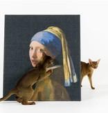 Copycat Art Scratcher - Meisje met Parel