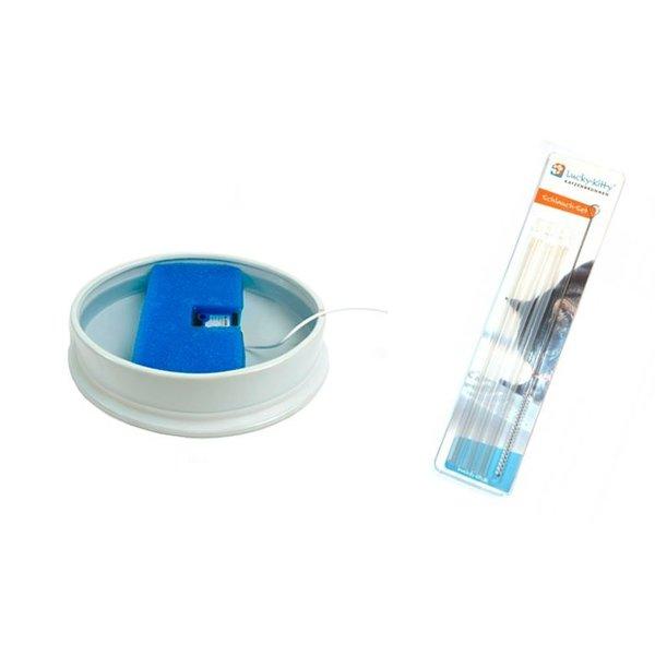 extra onderdelen: Filter of Tube-Set met cleaning brush