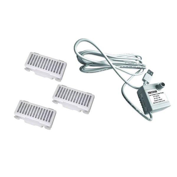 Wisselstukken: Reservepomp of Charcoal Filter