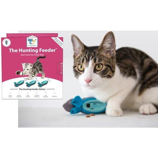 Doc & Phoebe's Indoor Hunting Cat Feeder (NoBowls)