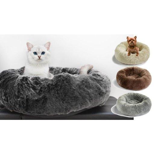 MiaCara Lana and Felpa Donut Bed