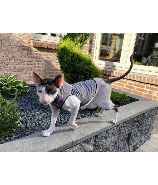 Cat Shirt Stretch Sunshield - Katten kleding UV protect