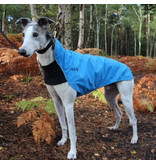 Chilly Dogs Rain Slicker REGENJAS - Windhonden / Long & Lean (model met borstband, einde reeks)