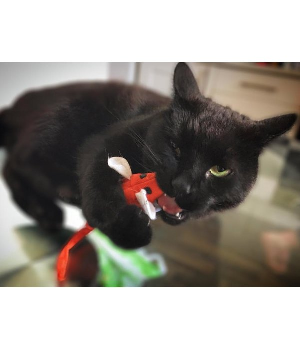 King Catnip Mouse, refillable