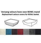 pet-interiors Replacement cover BOWL basket cushions
