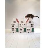 Petsdam Het Dorpshuisje, met krabkarton