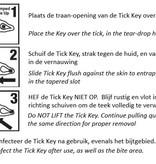 TICK key Mossy Oak Edition