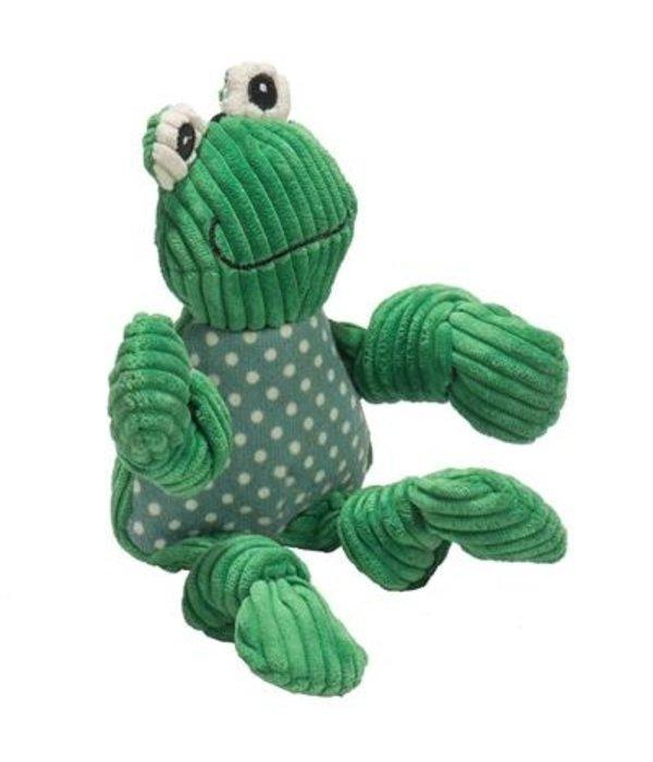 HuggleHounds Frog Knottie (2 sizes)