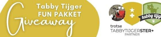 Doe mee en win een Tabby Tijger Fun pakket