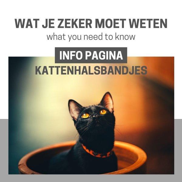 Info Pagina: Halsbandje voor katten...