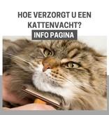 INFO pagina: Welke kam of borstel hebt u nodig voor uw kat?