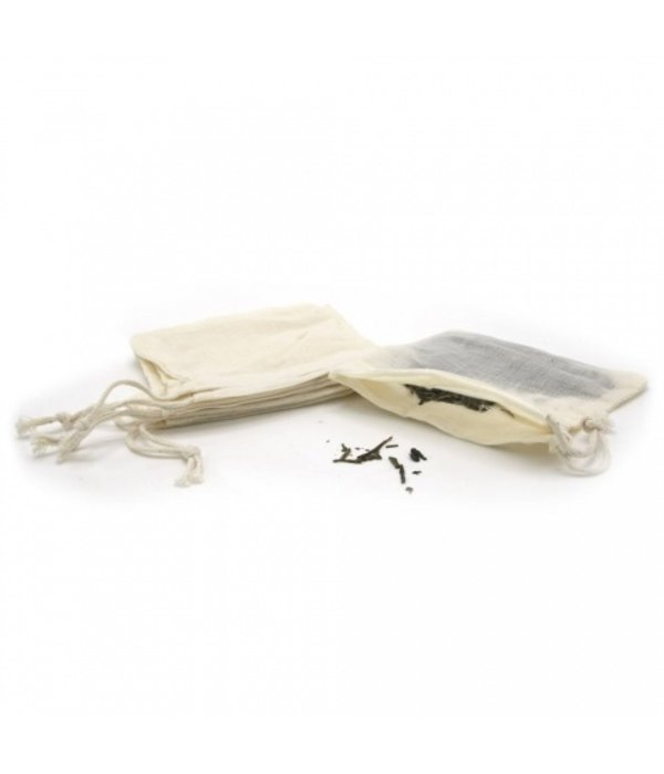 Herbal pouches, cotton and reusable
