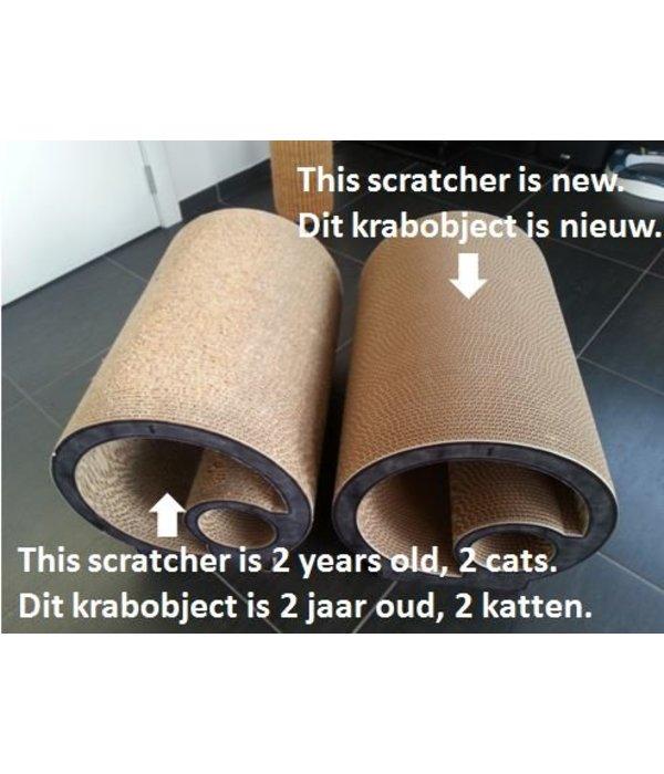 INFO: Hoe duurzaam zijn krabmeubels in karton?