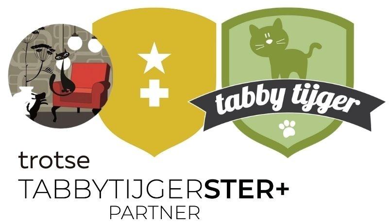 Tabby Tijger Ster+ Verdeler PurrFect Design