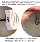 Purrs PeeKee Prey Wand Cat Toy and Mega Teaser