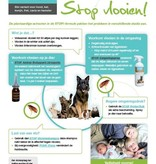 Musthaves for Animals STOP! Flea shampoo 250ml. The green alternative agains fleas