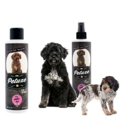 Petuxe Texturerende Shampoo en Conditioner voor Waterhonden