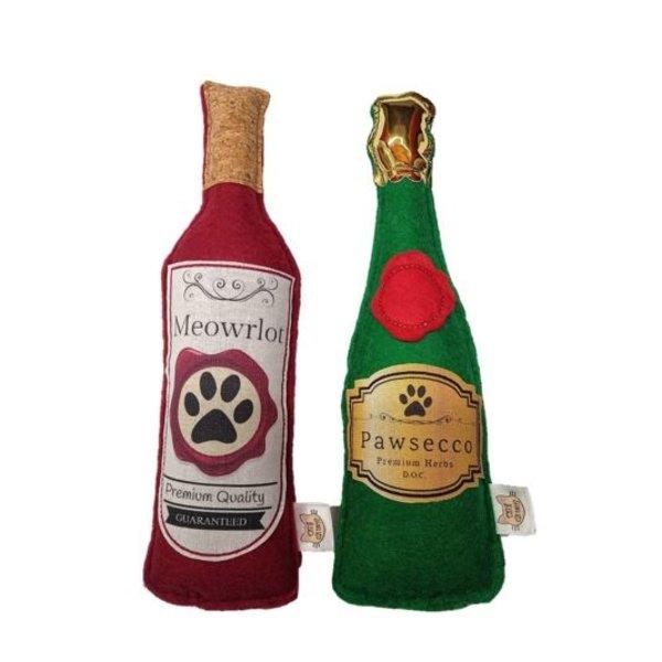 Meowrlot and Pawsecco, catnip