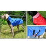 Chilly Dogs Rain Slicker REGENJAS - All Breed (model met borstband, einde reeks)
