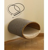 pet-interiors Scratch-wrapping for Rondo wall or stand