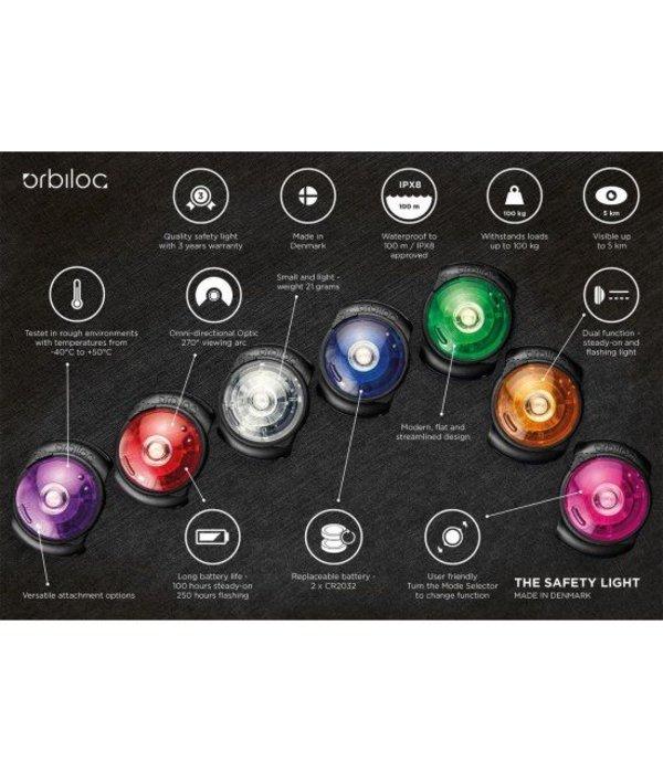 Orbiloc Dual Safety Light