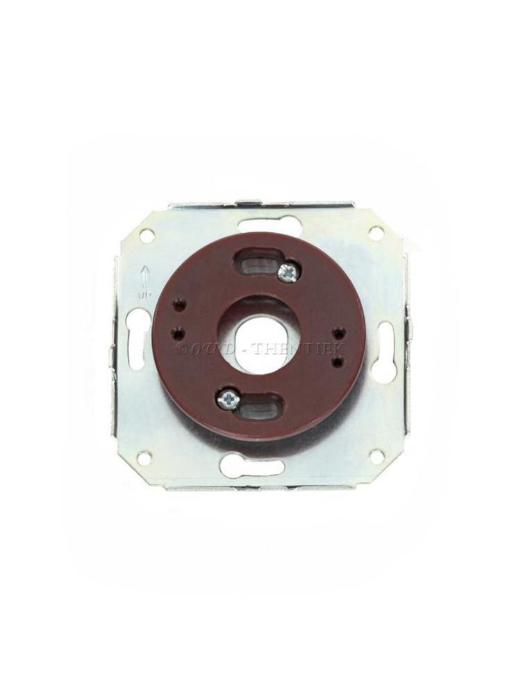 Adapter voor montageplaat van hout of porselein