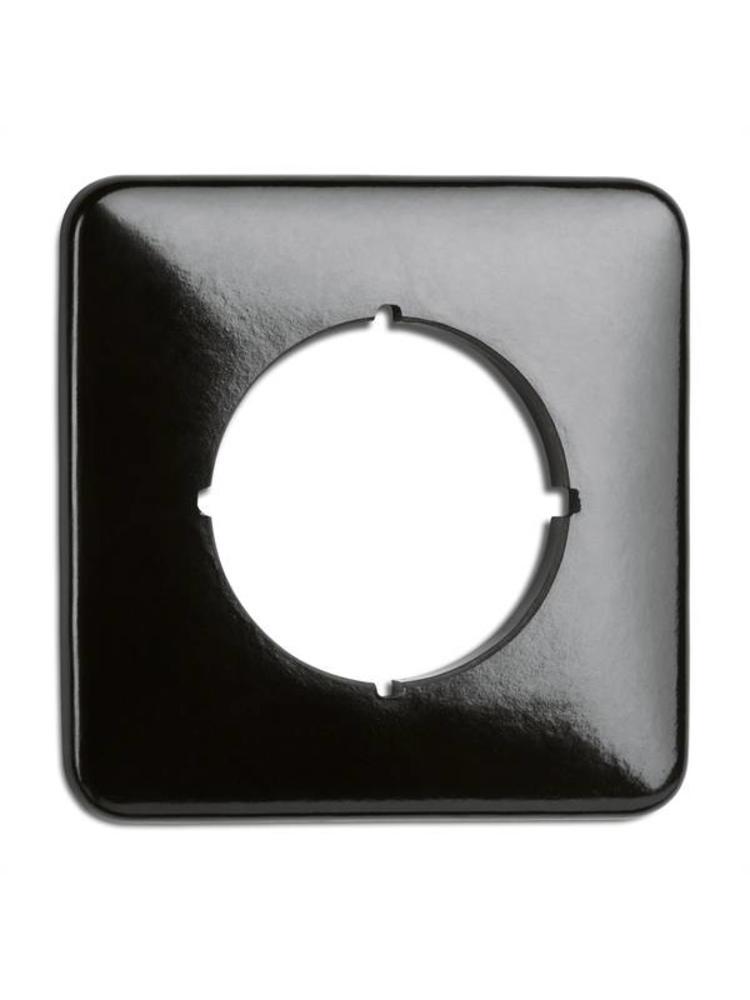 Bakeliet afdekraam inbouw - THPG schakelmateriaal - Retro schakelaar
