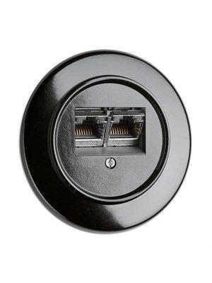Bakeliet data / telefoon Cat6A 1930