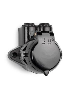 Bakeliet stopcontact België IP44 - 1930
