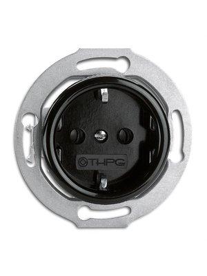 Bakeliet stopcontact kindveilig 1930
