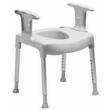 Etac vrijstaande toiletverhoger met armsteun
