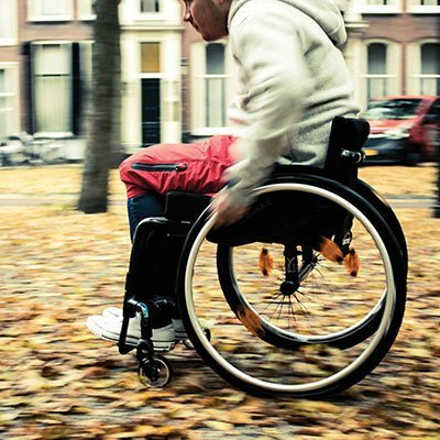 Kinetic Balance Raindek – rolstoel regenbescherming