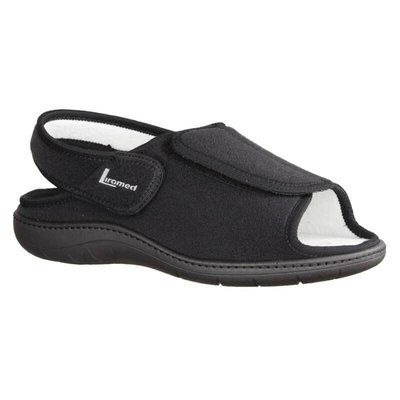 Liromed Sandalen zwart verstelbaar
