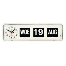 Kalenderklok tafelmodel BQ-38 | Dementie - slechtziend - alzheimer artikelen.