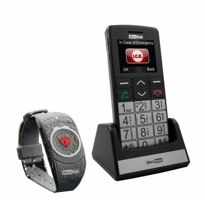 Maxcom senioren telefoon met alarmknop