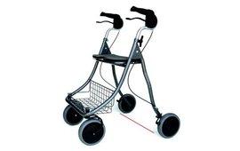 Speciale rollator tegen freezing bij Parkinson.