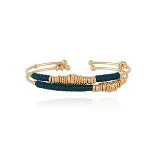 2 Zizanie Bangles Armband Gold