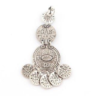 Arlequin triple row earrings Silver