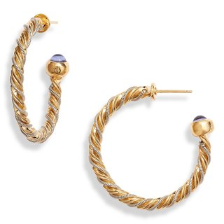 Torride Hoop Earrings Gold