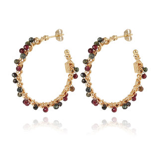 Orphee Hoop Earrings Gold